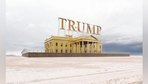 """هل يمكن أن يُغطى البيت الأبيض بالذهب ويُسمى """"ترامب؟"""""""
