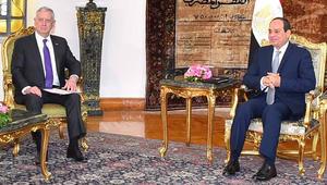"""السيسي يستقبل ماتيس.. ويؤكد حرصه على """"انطلاقة قوية"""" للعلاقات في عهد ترامب"""