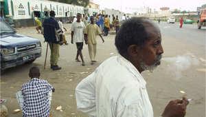 منظر من أحد شوارع بلدة جيبوتي 2003