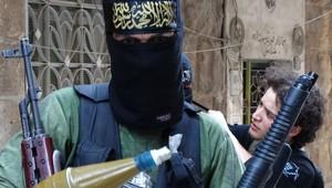 مقاتل إسلامي متشدد بسوريا