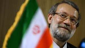 رئيس مجلس الشورى الإسلامي الإيراني علي لاريجاني