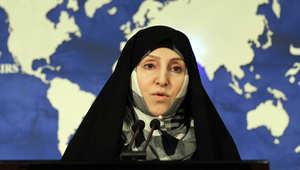 مرضية أفخم، المتحدثة باسم الخارجية الإيرانية