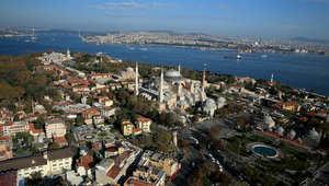 آيا صوفيا .. كنيسة بيزنطية تتزين بالآيات القرآنية في زمننا