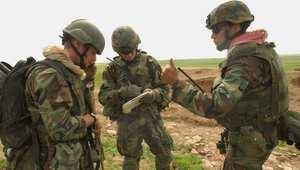 جنود من القوات الخاصة الأمريكية في كلك شمال العراق، أبريل/ نيسان 2003