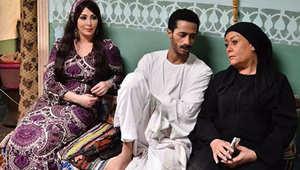 """هاله فاخر ومحمد رمضان في مسلسل """"ابن حلال"""""""