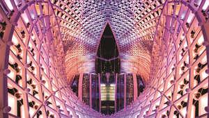 المعالم العمرانية في أبو ظبي..تتحول لقطع فنية تحاكي الأصالة والتراث