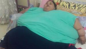 أثقل امرأة في العالم مصرية..تسافر إلى الهند للعلاج