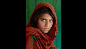 """لوحة ماكوري الشهيرة """"فتاة أفغانية"""" أصبح رمزا لثقافة الشرق الأوسط"""