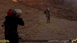 """داعش ينشر صورا لازالة """"معالم الشرك"""" في مدينة تدمر"""