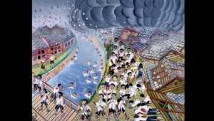 بالصور.. رسوم على يد الناجين من القنبلة الذرية باليابان تجسد ذكريات لن يمحوها الزمن