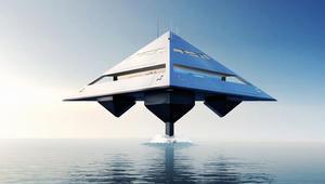 هل هذه سفينة فضائية أم يخت فاخر؟ انظر مجدداً.. قد تكون الاثنين معاً!