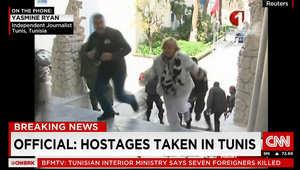 هجوم باردو بتونس.. إصابة 3 بولنديين وإيطاليين.. واحتمال مقتل فرنسي.. ولا تعليق من بريطانيا واسبانيا وألمانيا