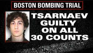 محكمة تفجيرات بوسطن: جوهر تسارناييف مذنب في كل التهم الموجهة ضده وعددها 30 منها 17 تؤهله لعقوبة الإعدام