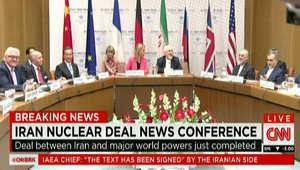 الاتفاق النووي الإيراني.. ظريف: هذه لحظة تاريخية.. لم يحقق أي طرف كل ما يريد ولكن توصلنا لأفضل اتفاق