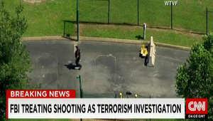 بالصور.. من مسرح الهجوم على مكتبين للتجنيد في تينيسي