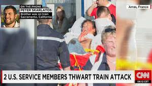 """تفاصيل جديدة بـ""""هجوم"""" داخل قطار فرنسي.. المسلح كان بحوزته عدة أسلحة"""