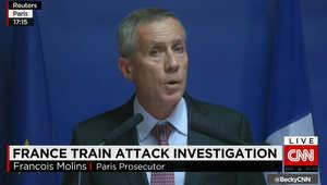 المدعي العام الفرنسي: مواقع انترنت دخلها الخزاني على متن القطار دليل واضح على أن الدافع إرهابي