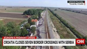 كرواتيا تغلق حدودها مع صربيا.. والداخلية الكرواتية لـCNN: يومان دخل فيهما 11 ألف لاجئ للبلاد