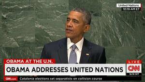 أوباما ينتقد دعوات لإبقاء بشار الأسد بالسلطة: طاغية يلقي براميل متفجرة ويقتل الأطفال وينبغي علينا دعمه لأن البديل سيكون أسوأ؟