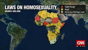 على الخريطة.. قوانين المثلية الجنسية في القارة الأفريقية