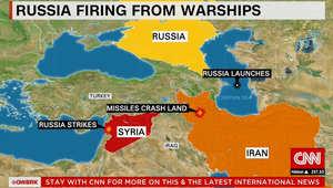 خريطة لموقع سقوط الصواريخ الروسية بإيران.. ووزير الدفاع الأمريكي: كان لدينا مؤشرات على ذلك