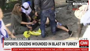 تقارير: 10 قتلى على الأقل في الانفجار قرب محطة القطارات بالعاصمة التركية أنقرة