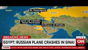تفاصيل بتحطم طائرة روسية بسيناء.. مصر: 214 راكبا من روسيا و3 من أوكرانيا منهم 138 سيدة