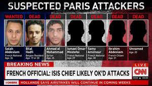 أسماء وأعمار وجنسيات 6 من المشتبه بتنفيذهم هجمات باريس