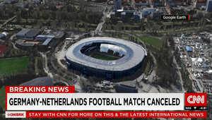 تقرير: إخلاء ملعب هانوفر قبل بدء مباراة بين ألمانيا وهولندا جاء بعد أنباء عن وجود قنبلة