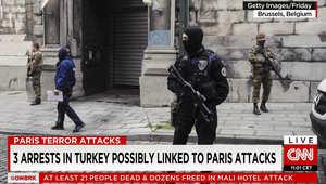 تركيا تعتقل سوريين وبلجيكي من أصول مغربية للاشتباه بانتمائهم لداعش وصلتهم بهجمات باريس