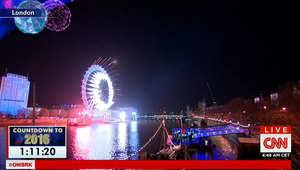 بالصور.. احتفالات العاصمة البريطانية بدخول العام 2016