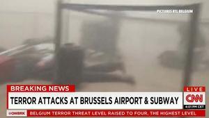 """تفجيرات بروكسل.. محلل شؤون مكافحة الإرهاب بـCNN: المطار كان تحت حراسة مشددة واختراقه يعتبر """"مقلقا"""""""