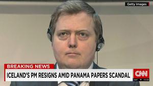 """تداعيات """"وثائق بنما"""".. نائب رئيس الحزب التقدمي في ايسلندا يعلن استقالة رئيس الوزراء بالبلاد"""
