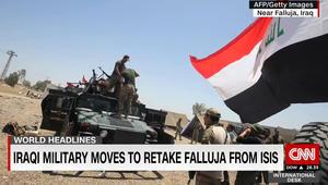 محلل لـCNN: أسباب كثيرة تدفع للشك بالقدرة على استعادة الفلوجة وطرد داعش