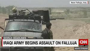قيادة العمليات المشتركة العراقية: لا وجود للقوات داخل الفلوجة حتى الآن والتقدم مستمر