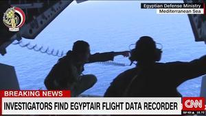 لجنة التحقيق بحادثة طائرة مصر للطيران MS804 تعلن انتشال الصندوق الأسود الثاني