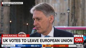 """""""خارج الاتحاد الأوروبي"""".. وزير خارجية بريطانيا لـCNN: العالم سيصبح أقل أمنا دون دورنا الأكبر كعضو بالاتحاد"""