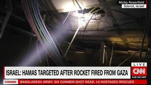 إسرائيل: غارات استهدفت 4 مواقع لحماس في غزة ردا على قذيفة سقطت في سديروت