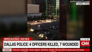 """إطلاق النار في دالاس.. الشرطة: نتفاوض مع مشتبه به قال لنا """"إن النهاية اقتربت"""""""