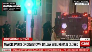 """شرطة دالاس تعلن ارتفاع عدد القتلى بإطلاق النار إلى 5 في """"أكثر الأيام دموية بالنسبة للشرطة منذ 9/11"""""""