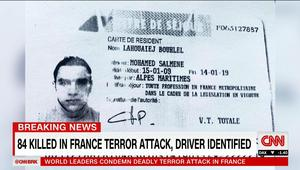 المدعي العام الفرنسي يكشف تفاصيل هجوم نيس ومعلومات عن منفذه وحصيلة القتلى والجرحى