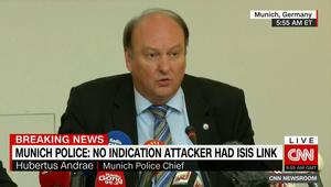 رئيس شرطة ميونخ يكشف آخر تفاصل الهجوم: لا علاقة لمطلق النار بداعش أو اللاجئين.. وكان بحوزته 300 طلقة