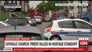 فرنسا: انتهاء عملية احتجاز مسلحين اثنين لقسيس وراهبتين ومدنيين في كنيسة.. والأبرشية تؤكد مقتل القسيس