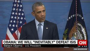 أوباما: داعش لم ينفذ عملية ناجحة بالعراق أو سوريا منذ عام