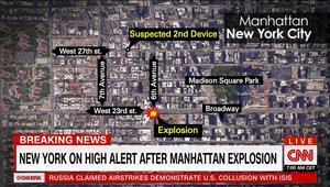 انفجار مانهاتن.. شاهد لـCNN: كان أشبه بصاعقة ضربت البناية