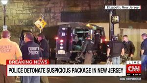 عمدة مدينة إليزابيث لـCNN: إبطال مفعول قنبلة في حقيبة ظهر بطريقة آمنة في ولاية نيوجيرسي