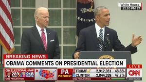 أوباما بعد فوز ترامب: هنأت الرئيس الجديد وجميعنا بالفريق ذاته في النهاية