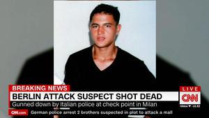 مسؤول إيطالي يبين لـCNN ما كان بحقيبة عامري ليلة مقتله