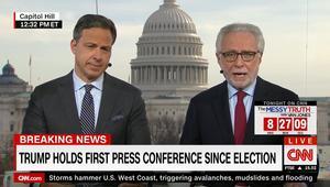 CNN ترد على اتهامات ترامب بنشر أخبار كاذبة حول التقرير عن روسيا
