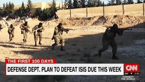 البنتاغون يرسل خطط هزم داعش لترامب.. ومسؤول لـCNN: تتضمن 3 خيارات
